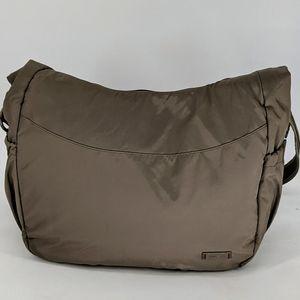 Pacsafe Shoulder Crossbody Bag Travel❣️Sz Large